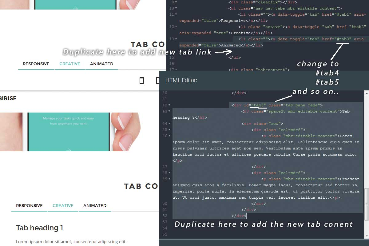 Bootstrap One Page Theme Tutorial