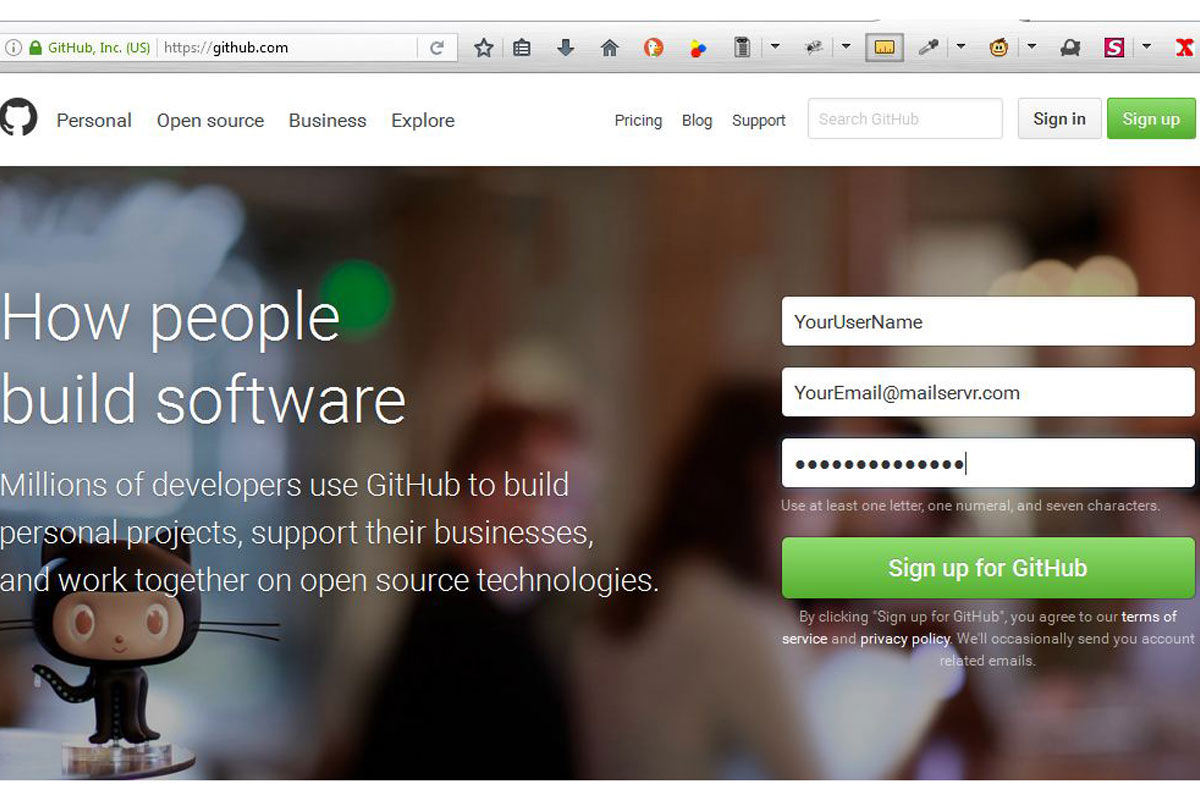 github Pages Project Site