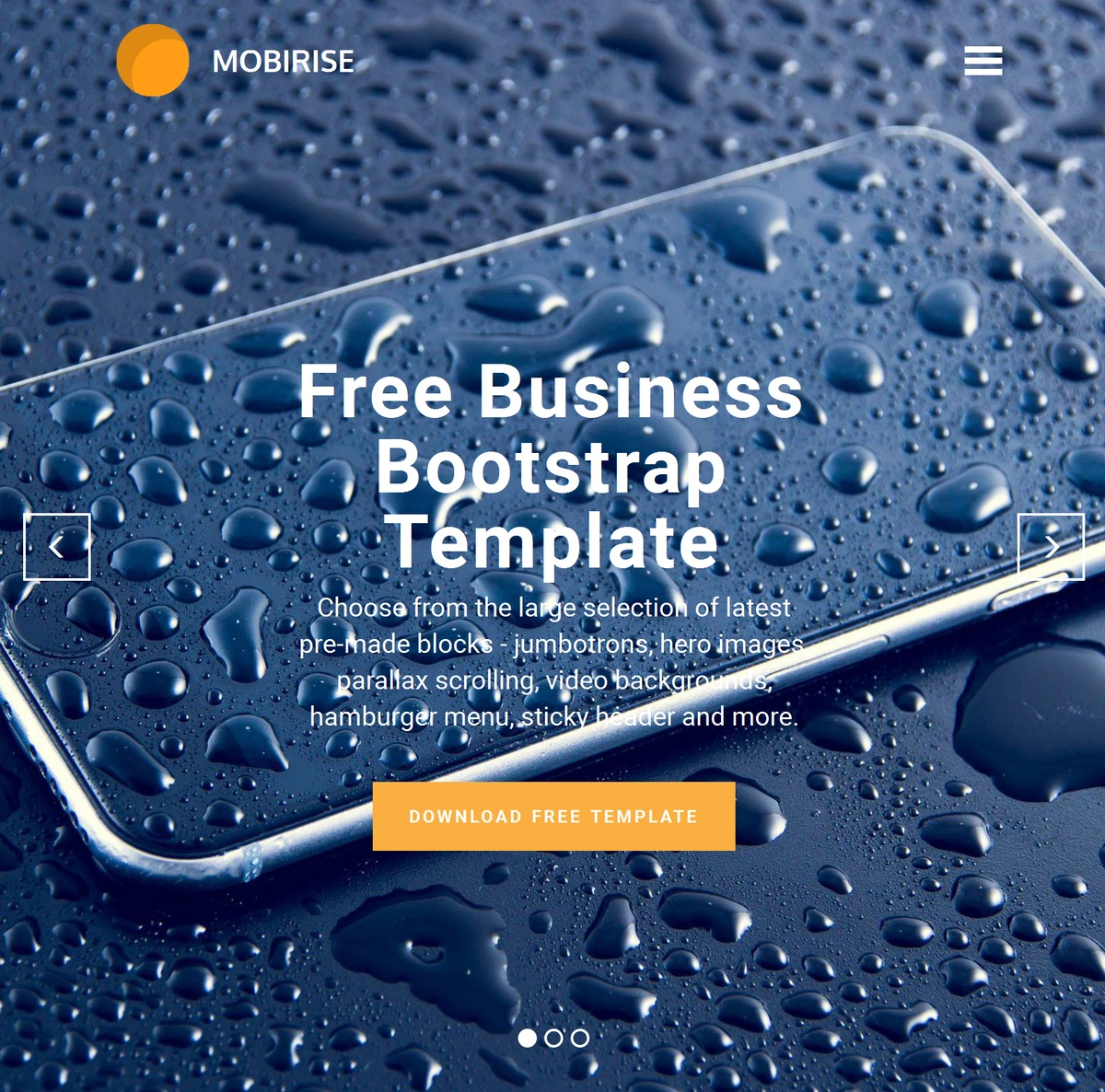 Bootstrap Responsive Site Templates Themes Extensions