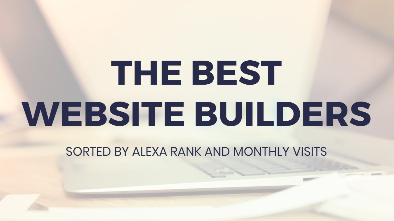 Best  Web Site Builders